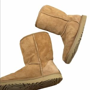 Ugg Boots Suede Sherling Calf Boots 8
